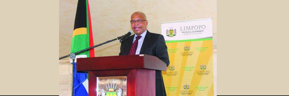 Premier Chupu Stanley Mathabatha officially launched EPWP Phase 3 at Tompi Seleka College of Agriculture in Sekhukhune District Municipality